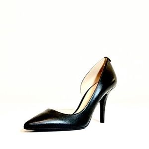 Michael Kors leather d'Orsay pumps new without box